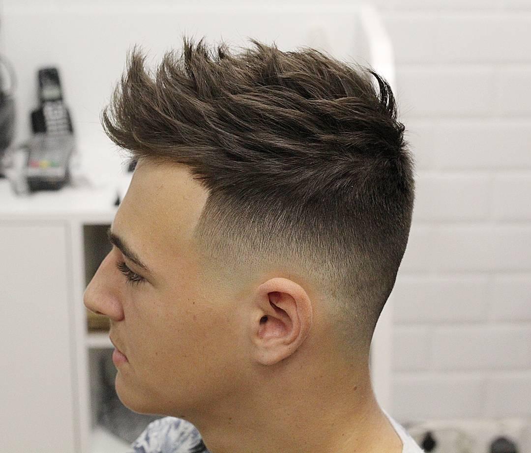 tóc nam năng động