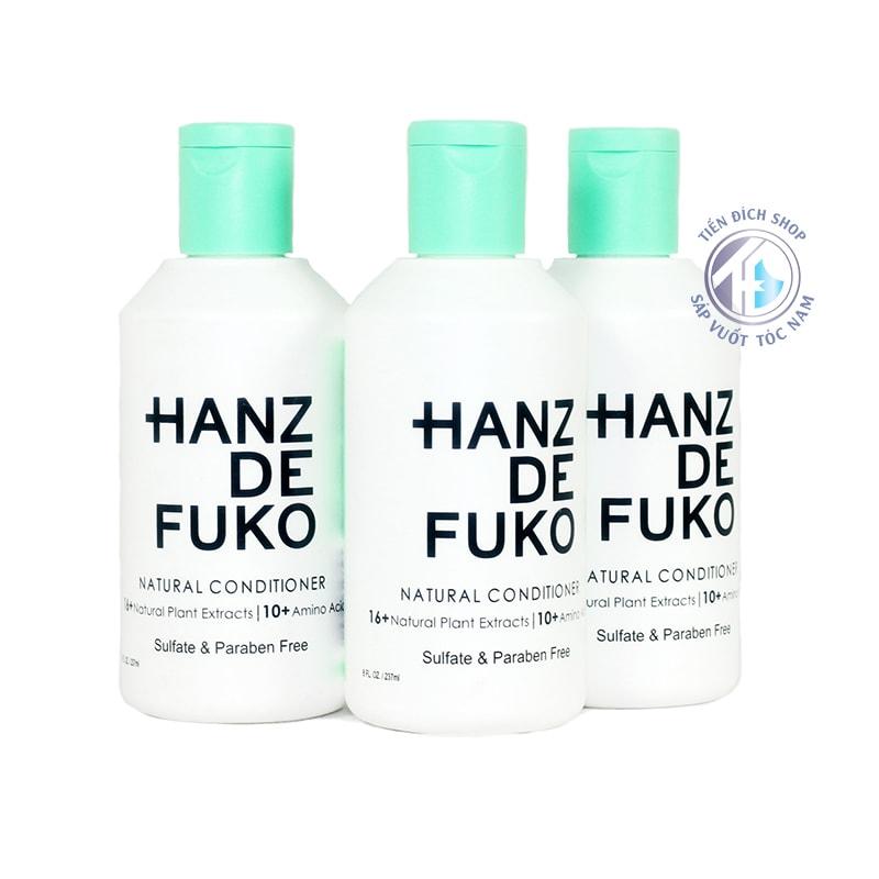 dầu xả hanz de fuko natural conditioner
