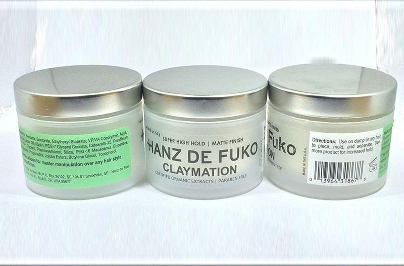Giới thiệu và đánh giá sáp vuốt tóc nam Hanz De Fuko Claymation