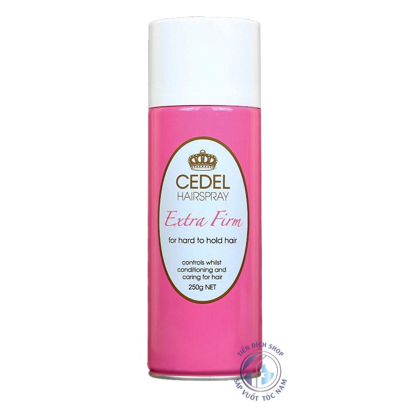 Gôm xịt tóc Cedel HairSpray 250g