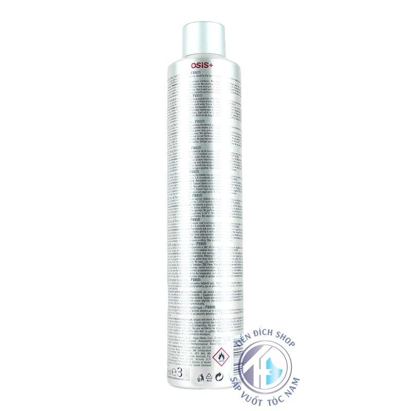 review gôm xịt tóc Osis+ 2 Freeze Finish 500ml