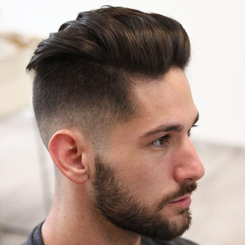 tóc nam đẹp undercut 2020