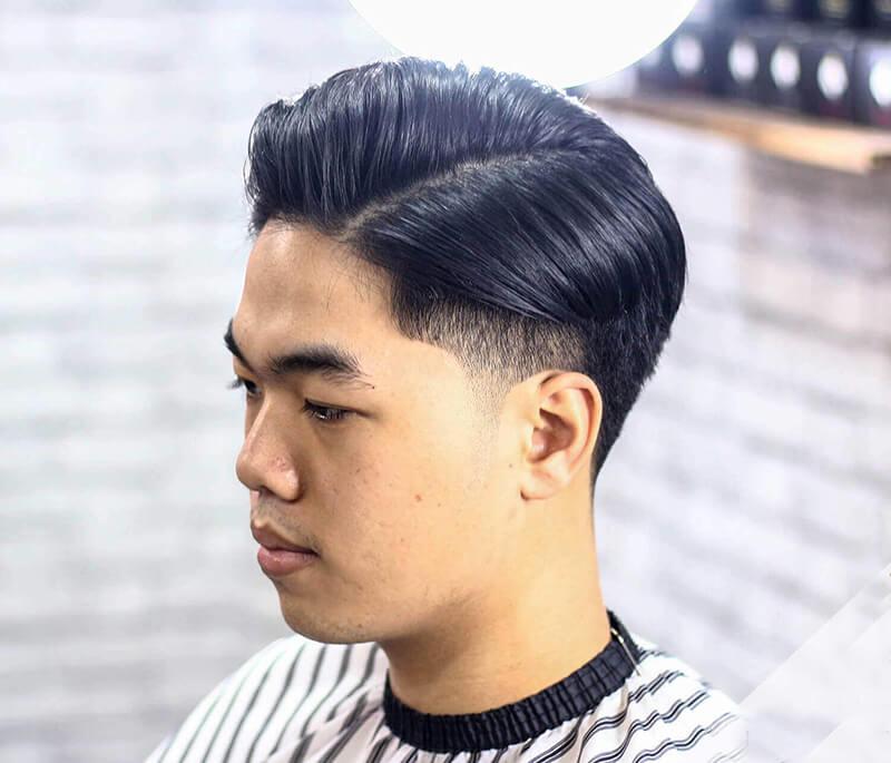 kiểu tóc đẹp Side Part 2020