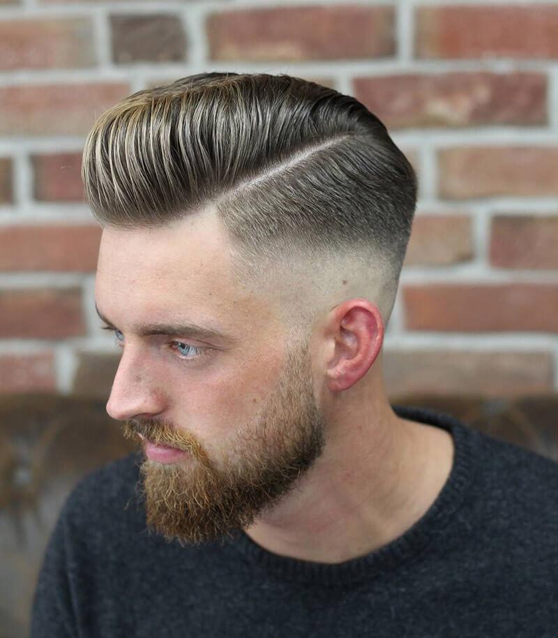 kiểu tóc Pompadour 2020