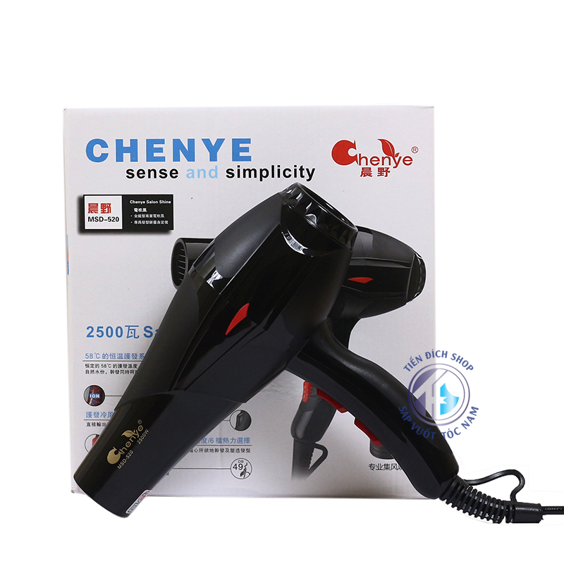 Máy sấy tóc CHENYE 2500W MSD-520