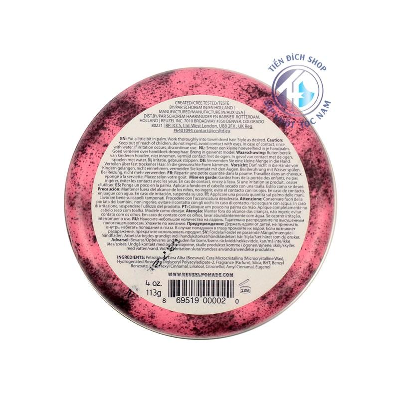 Pomade Reuzel Pink 113g