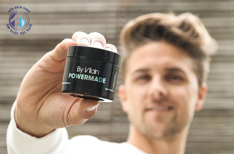 đánh giá sáp vuốt tóc by vilain powermade