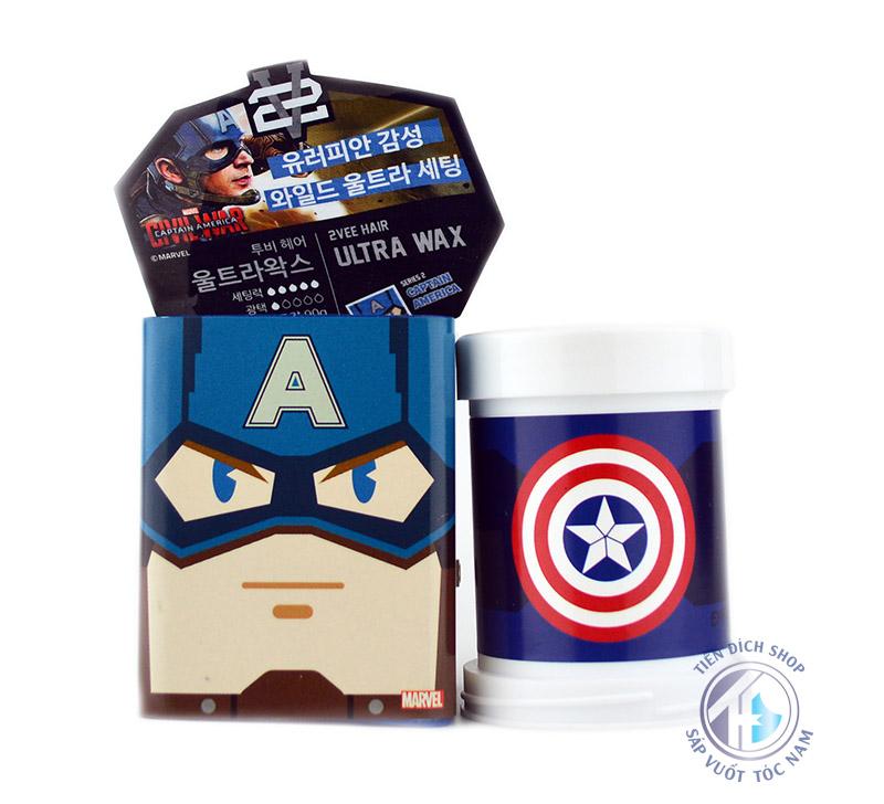 wax vuot toc 2Vee Ultra Wax Captain America