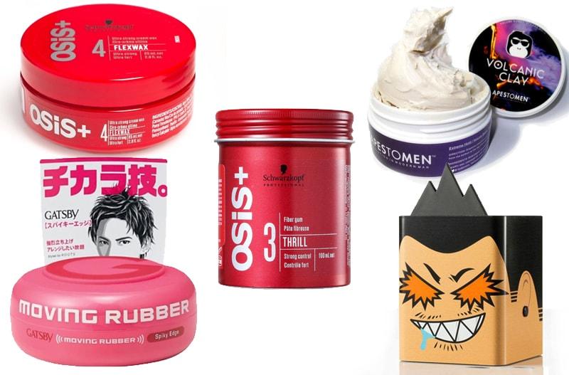 5 loại sáp vuốt tóc giá rẻ