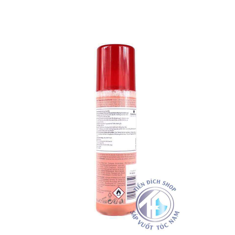 chai xịt Schwarzkopf BC Repair Spray Conditioner