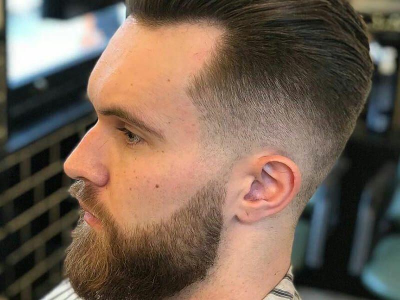 Kiểu tóc vuốt ngược với GEL