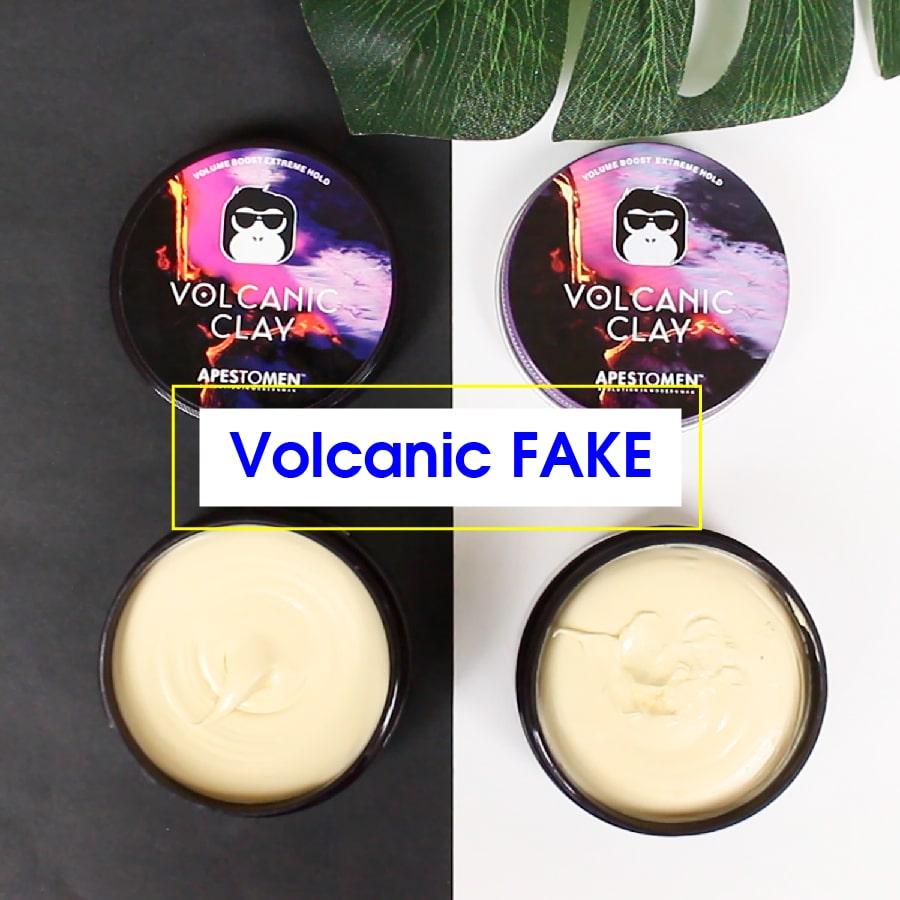 volcanic clay fake