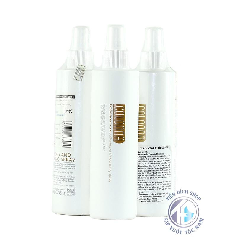 xịt dưỡng tóc 2 lớp colonna
