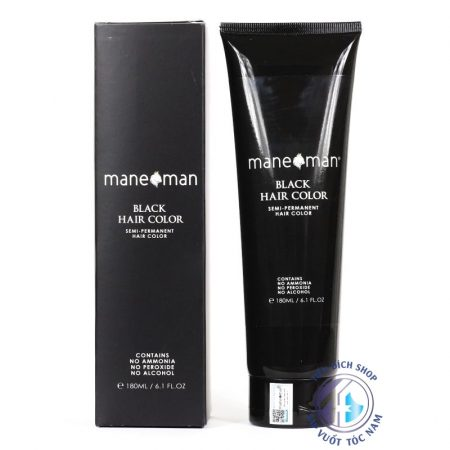mane man black hair color