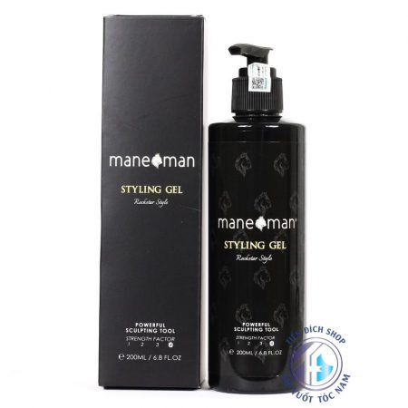 gel vuốt tóc mane man styling gel
