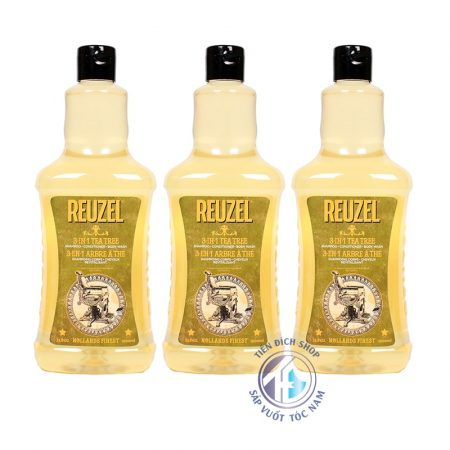 reuzel 3 in 1 tea tree 1000ml