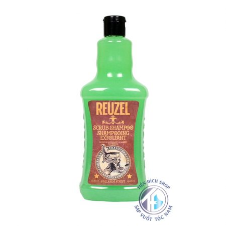 dầu gội làm sạch pomade reuzel scrub shampoo