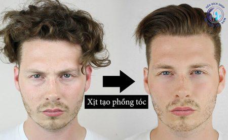 Keo xịt tóc nam | Dùng keo xịt tóc đúng cách [Video hướng dẫn]