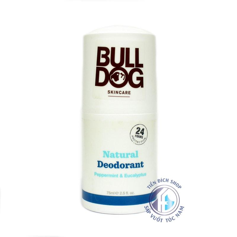 Lăn khử mùi Bulldog Peppermint & Eucalyptus Natural Deodorant