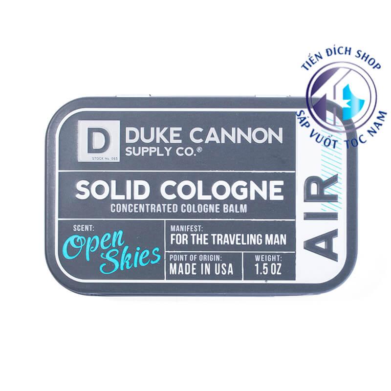 Duke Cannon AIR – Open Skies