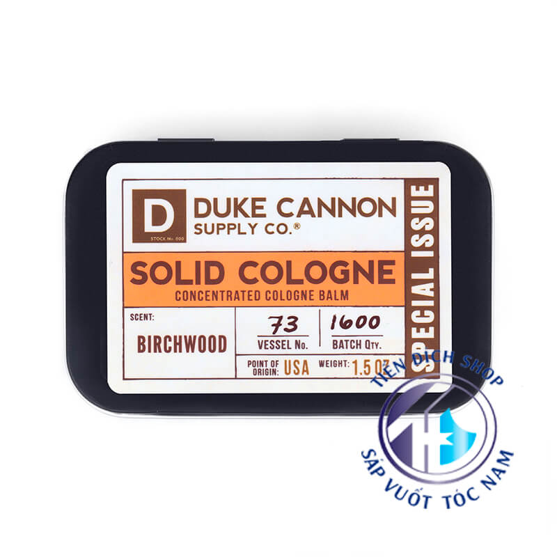 Duke Cannon SPECIAL ISSUE – BRICH WOOD