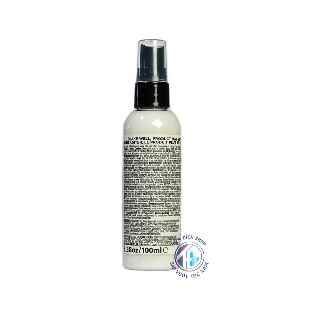 Prestyling Reuzel Spray Clay năm 2021