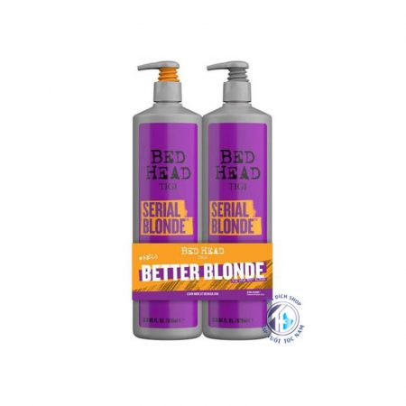 dầu gội xả Tigi Bed Head Serial Blonde