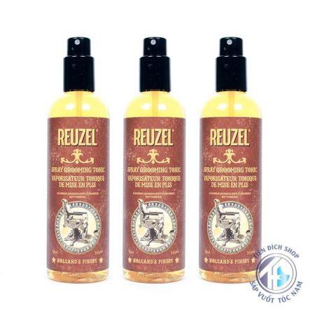 Xịt phồng tóc Reuzel Spray Grooming Tonic chính hãng